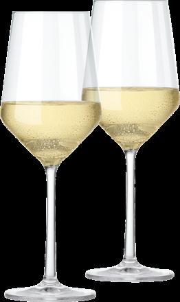 Zwiesel Kristallglas Pure vitvinsglas i set om 2