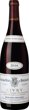 2016 Baron Thénard Clos Saint Pierre rouge Givry 1er Cru AOP