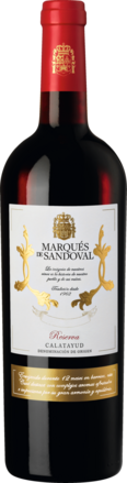 2017 Marqués de Sandoval Reserva Calatayud DO