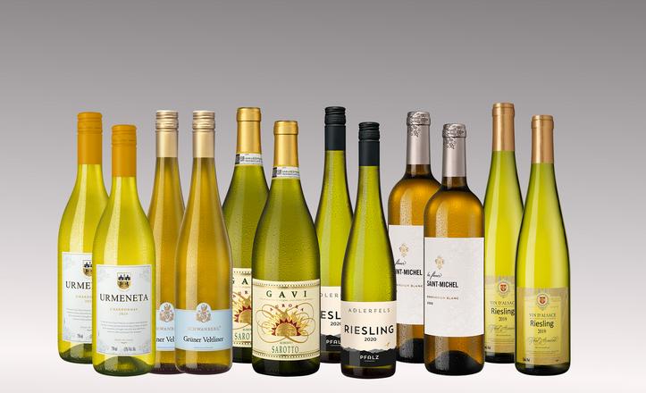 Vinpaket Vita klassiker 6 x 2 flaskor