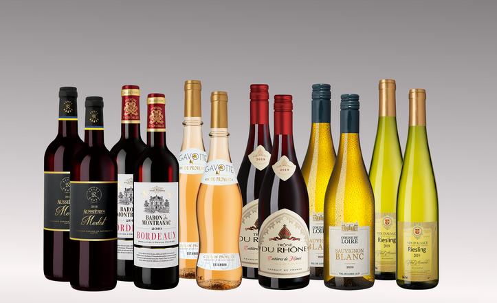 Vinpaket Vive la France