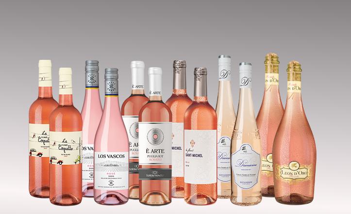 Vinpaket Rosé 6 x 2 flaskor