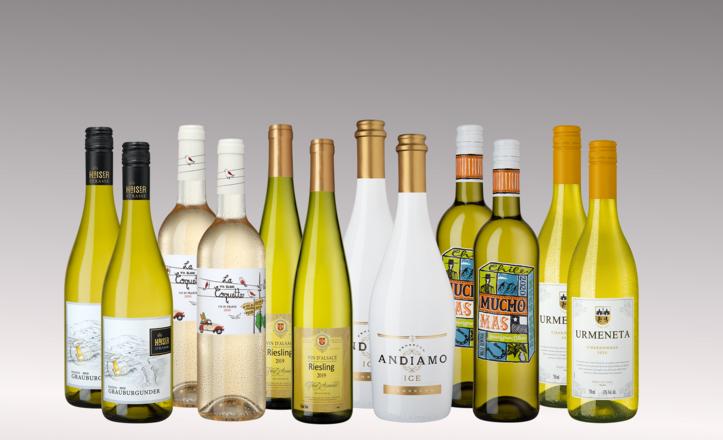 Vinpaket Vitt Highlights