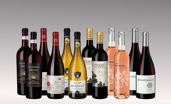 Vinpaket Södra Frankrike