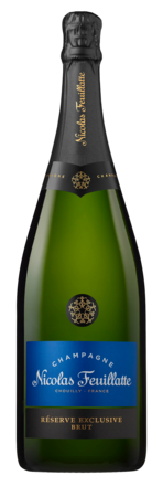 Champagne Nicolas Feuillatte Réserve Exclusive Brut, Champagne AC, Thermo Sleeve