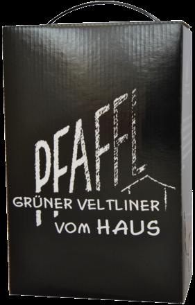 2020 Pfaffl Grüner Veltliner vom Haus Trocken, Niederösterreich, Bag in Box 3L