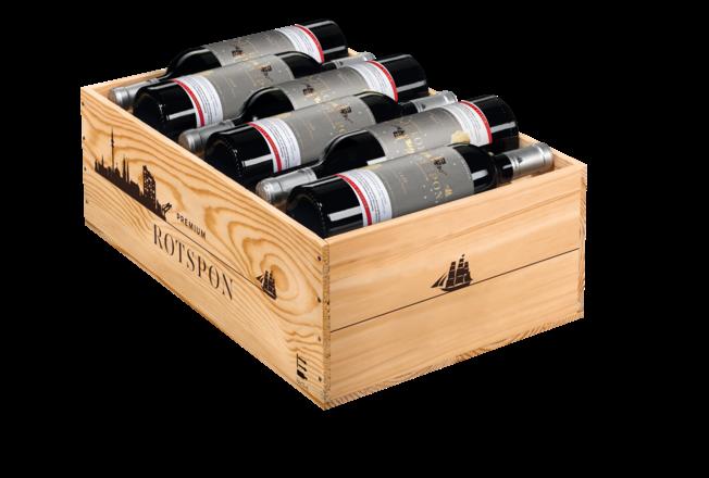 2020 Premium Rotspon Winter Edition Pays d'Oc IGP, trälåda med 12 flaskor