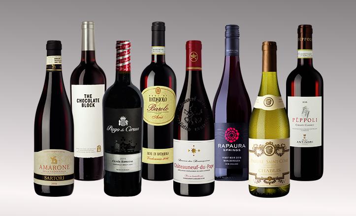 Vinpaket Fine Wine 8 flaskor