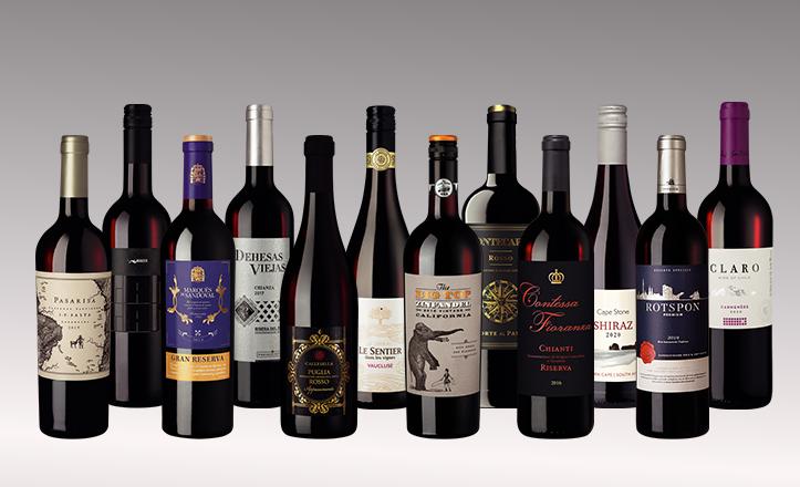 Vinpaket Världens röda