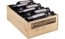 2016 Evoluzione Chianti Riserva Platinum Edition Chianti Riserva DOCG, trälåda med 12 flaskor